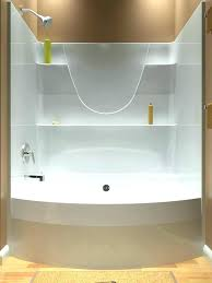 one piece bathtub surround bathtubs 1 tub and home depot shower canada installing 3