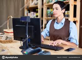 Working As Cashier Stock Photo Pressmaster 177625202