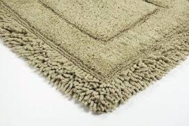 cotton bath rugs with latex backing bed bath fashions savoy gy 2 piece cotton bath rug