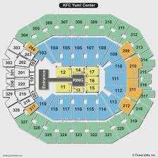 Up To Date Yum Center Louisville Kentucky Seating Chart