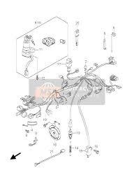 suzuki gs e f spare parts msp wiring harness gs500 u
