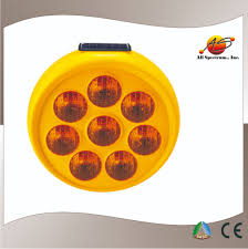 Solar Powered Red Led Lights Solar Sunflower Warning Light Solar Traffic Signals Led Flashing Light Saso Approval View Revolving Warning Light Allspec Product Details From All
