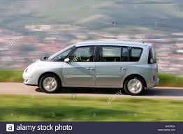 Renault Espace 2.0 dCi FAP, model year 2006-, silver, driving ...