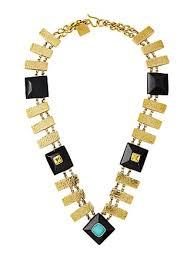 ashley pittman pevu necklace w turquoise citrine