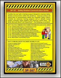 sp167 form amazon com sp 167 workplace safety communication series