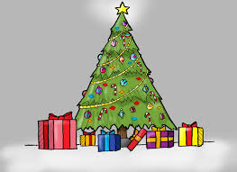 christmas tree with presents drawing. Simple Christmas For Christmas Tree With Presents Drawing YouTube
