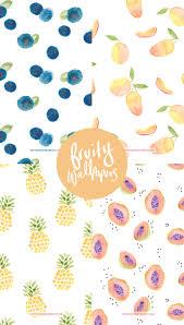 fruit wallpaper iphone. Interesting Iphone FREE Watercolour Fruit IPhone Wallpapers With Wallpaper Iphone