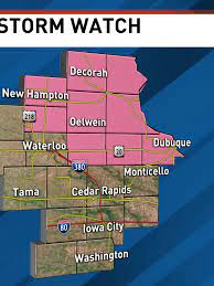 A Severe Thunderstorm Watch has been ...