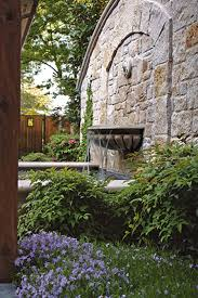 stone wall water fountain amazing chic 19 feature gallery