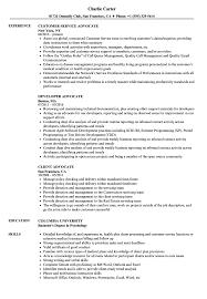 Advocate Resume Samples Velvet Jobs
