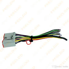 2018 feeldo car radio player wiring harness audio stereo wire car stereo wiring harness diagram at Wiring Harness For Radio