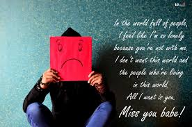 I Miss You Messages Quotes Sayings For Himher Wishbae