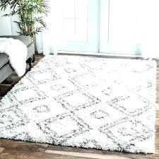 4 x 10 rug rug 4 x 4 x rug my soft and plush trellis white 4 x 10 rug