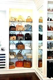 purse organizer for closet ideas shoe and storage organizers home design clos