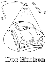 Doc Hudson Coloring Pages Free To