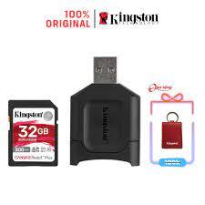 Thẻ Nhớ SD Kingston Canvas React Plus V90 32GB 300mbs/260mbs cho camera quay  phim chuyên nghiệp 4K/8K MLPR2/32GB giá cạnh tranh