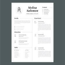 Modern Day Resume New Creative Resume Template In Microsoft Wordcv
