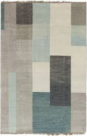 teal and grey area rug. Cypress Collection 100% Wool Area Rug In Dove Grey, Teal, And Light Grey Design By Surya Teal