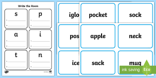 This page is designed to support teachers teaching set 1 of the jolly phonics (satpin). Satpin Worksheet Write The Room Primary Resources Ks1