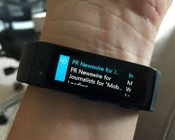 Microsoft Fitness Tracker Microsoft Band Smartwatch And Fitness Tracker In One