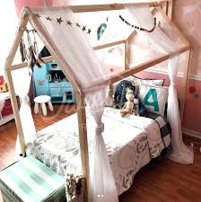 Canopy Beds For Little Girls Toddler Bed Best Ideas On Pink Girl ...