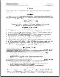 Resume Template On Word Top Mechanical Engineering Resume Template Word Electrical 48