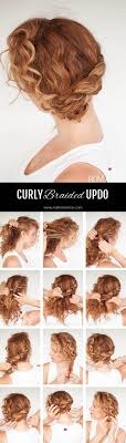 Second Day Curly Hairstyles 25 Best Ideas About Curly Hair Buns On Pinterest Natural Curly