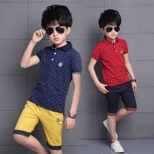 <b>2019</b> New <b>2019 Children'S Kids</b> Boys Clothing Sets <b>Summer Cotton</b> ...