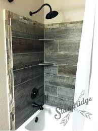 wood tile shower wood look tile shower medium size of shower oak homes mobile home manufacturers wood tile shower