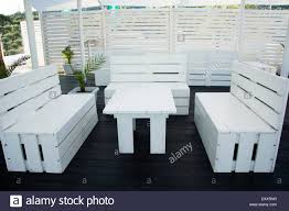 industrial palettes furniture painted in white for beach barfantastic idea t7 furniture