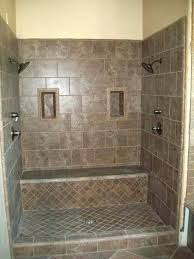 dual shower double shower heads with a seat love it oil rub bronze dual shower head