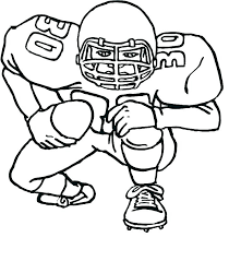 Coloring Pages Sports Football Household Unique Page Intended For 9
