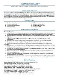 Sample Resume For Outpatient Department Nurse Best Luxury Line