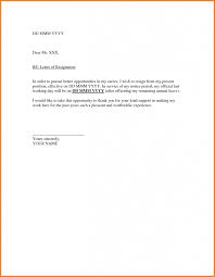 Resignation Letter Samples With Reason Formal Resignation Letter Samples Sample With Notice Period