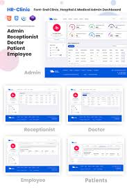 Hr Design Html Hr Clinic Clinic Hospital Medical Management Admin Template