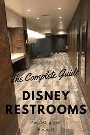 disney world bathrooms and restrooms