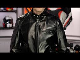 schott 641 horsehide cafe racer jacket review at revzilla