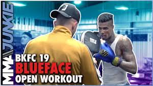 BKFC 19: Blueface Open Workout - YouTube