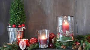 Weihnachtstischdeko Windlichter Mit Sternen Einfach Selber