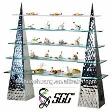 Glass Stands For Display 100tier Stainless Steel Buffet Display Wedding Cake Stand With 99