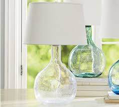 colored glass lighting. Eva Colored Glass Table Lamp - Clear Lighting F