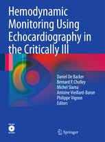 Hemodynamic Monitoring Using Echocardiography In The Critically Ill