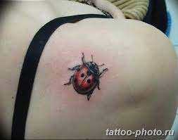 фото идея тату божья коровка 22122018 061 Photo Ladybug Tattool