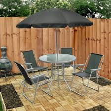 6 piece garden furniture patio set inc chairs table outdoor furniture table tops
