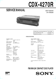 sony mdx c800rec service manual schematics eeprom sony