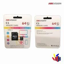 Thẻ Nhớ MicroSD Hikvision C1 64GB - 92Mb/S Box Class10 (Chuyên Dùng Camera)  - H&H Equipment Company Ltd.