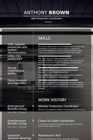 Cool Production Coordinator Resume Resume Design