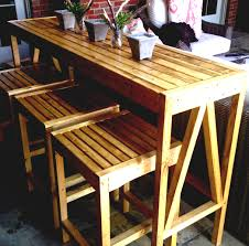 portable patio bar. How To Build A Patio Bar With Granite Countertops And Wooden Chairs | HomeLK.com Portable