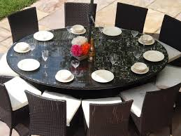 full size of large round teak outdoor dining table large round dining room table with leaf