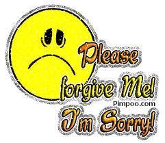 please forgive me i m sorry